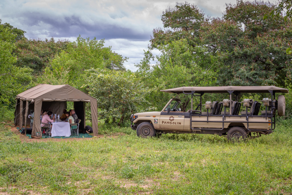 Camp in the Chobe National Park, all-inclusive!