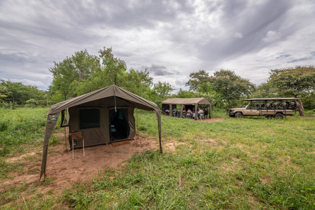 Mobile Camp in the Chobe National Park