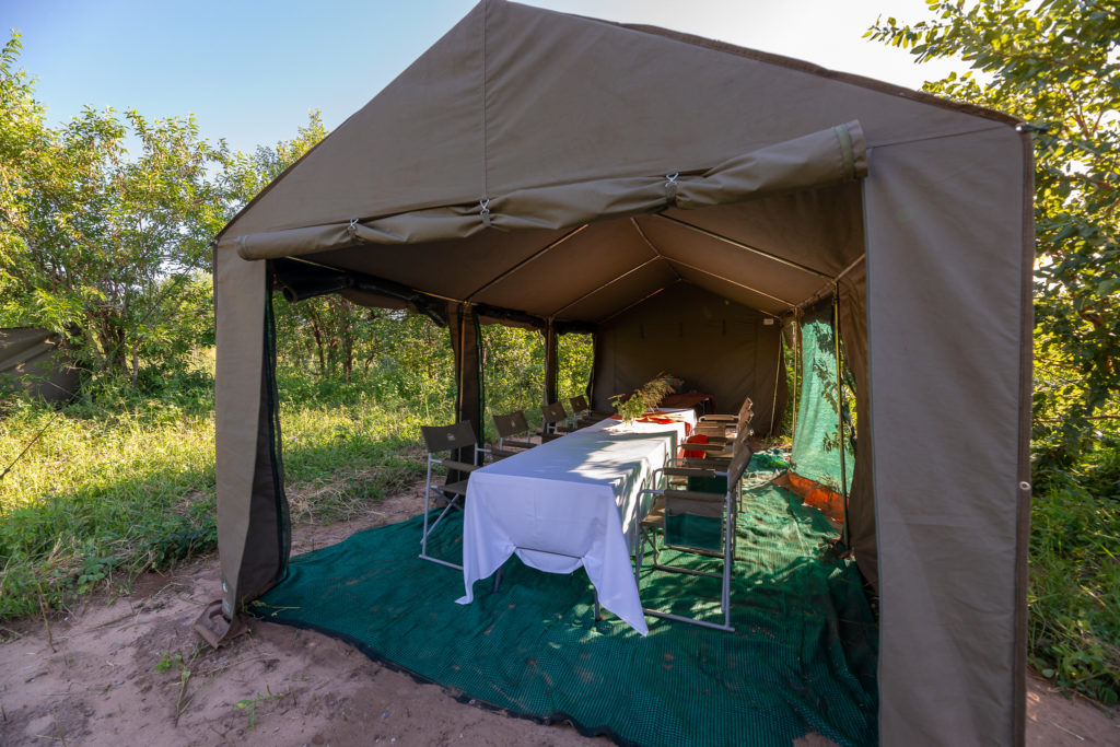 Pangolin Mobile Camp in the Chobe National Park
