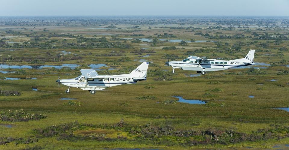 Chobe Okavango Fly in