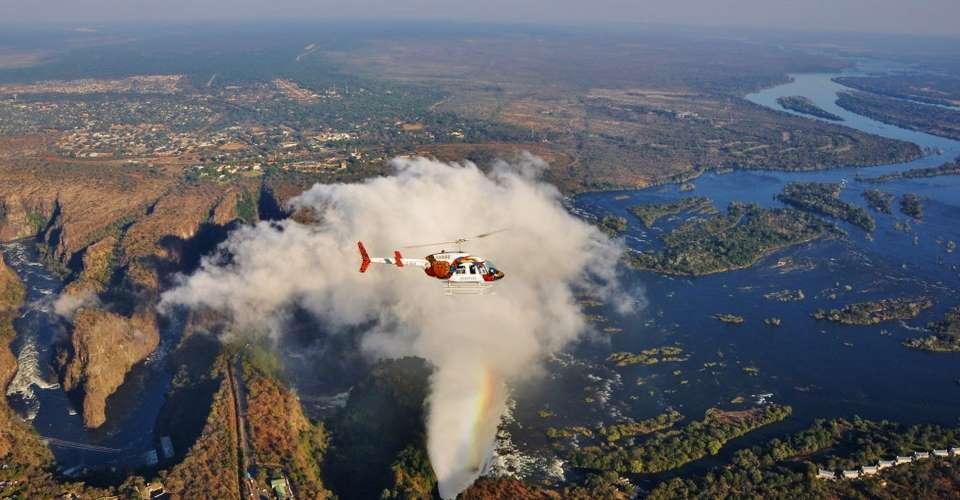 Romantic Botswana safari and Victoria Falls