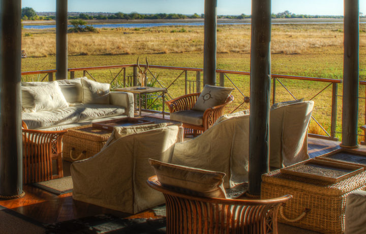 chobe savanna lodge downstairs lounge