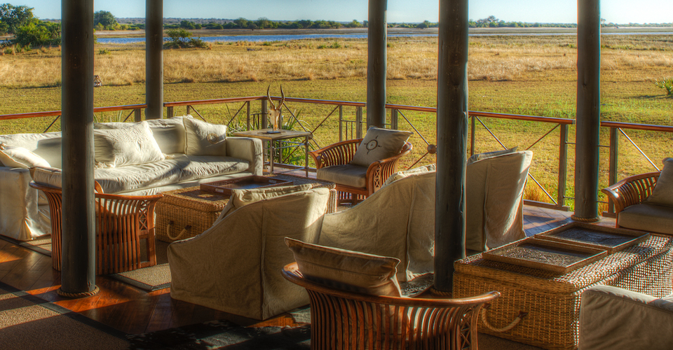 chobe savanna lodge downstairs lounge