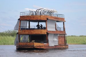 The Chobe Explorer is perfect for animal sightings