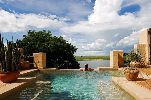 Chobe Game Lodge Swimming Pool