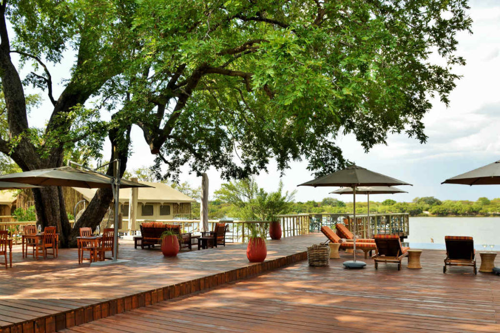 Jackalberry Chobe Lodge Dining Area