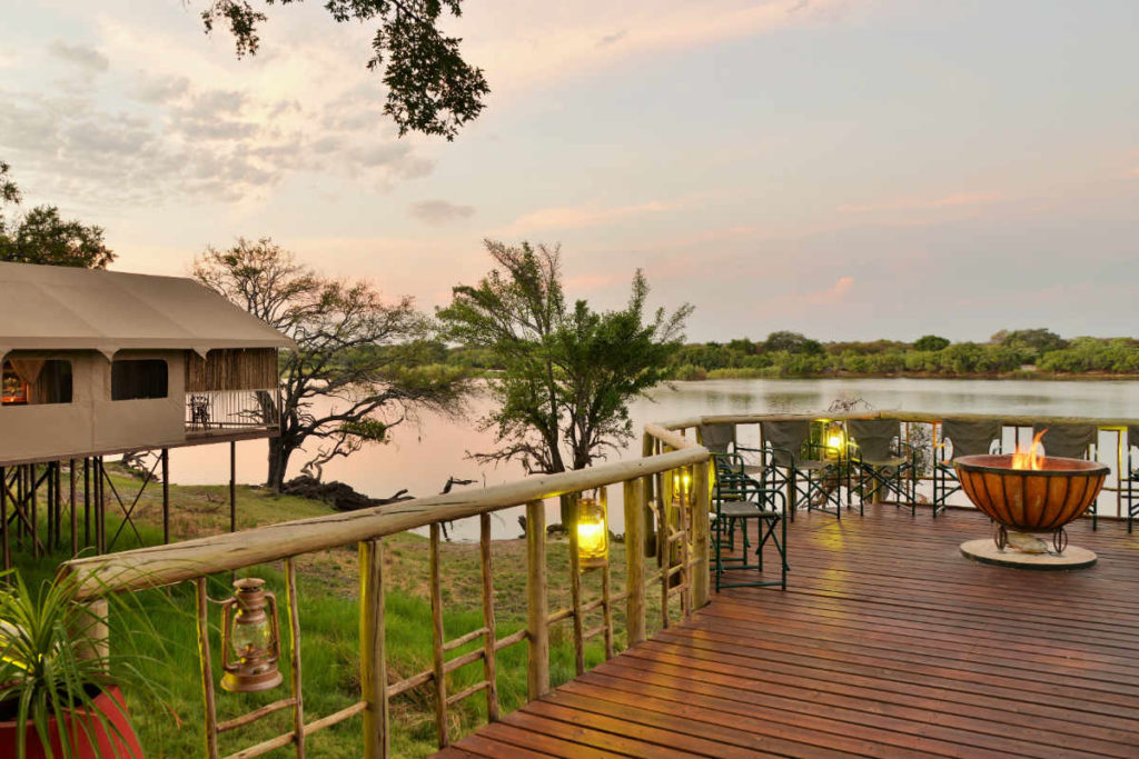 Jackalberry Chobe Lodge View