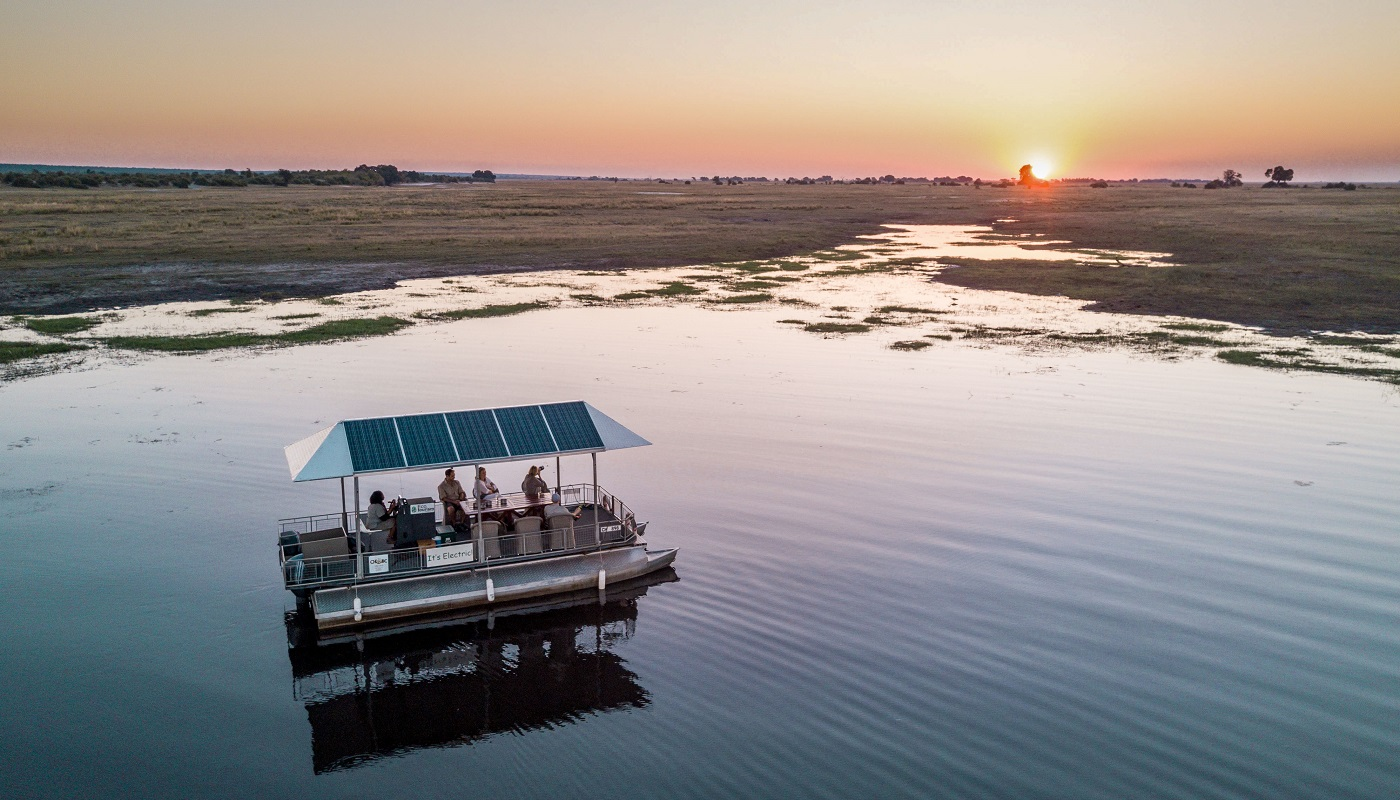 Go on boat safari in Chobe National Park, Botswana