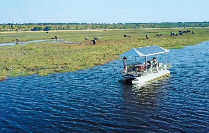 Boat cruises in Chobe National Park, Botswana