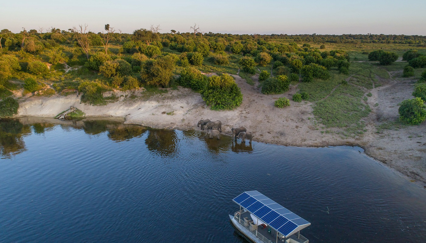 Boat trips in Chobe National Park, Botswana