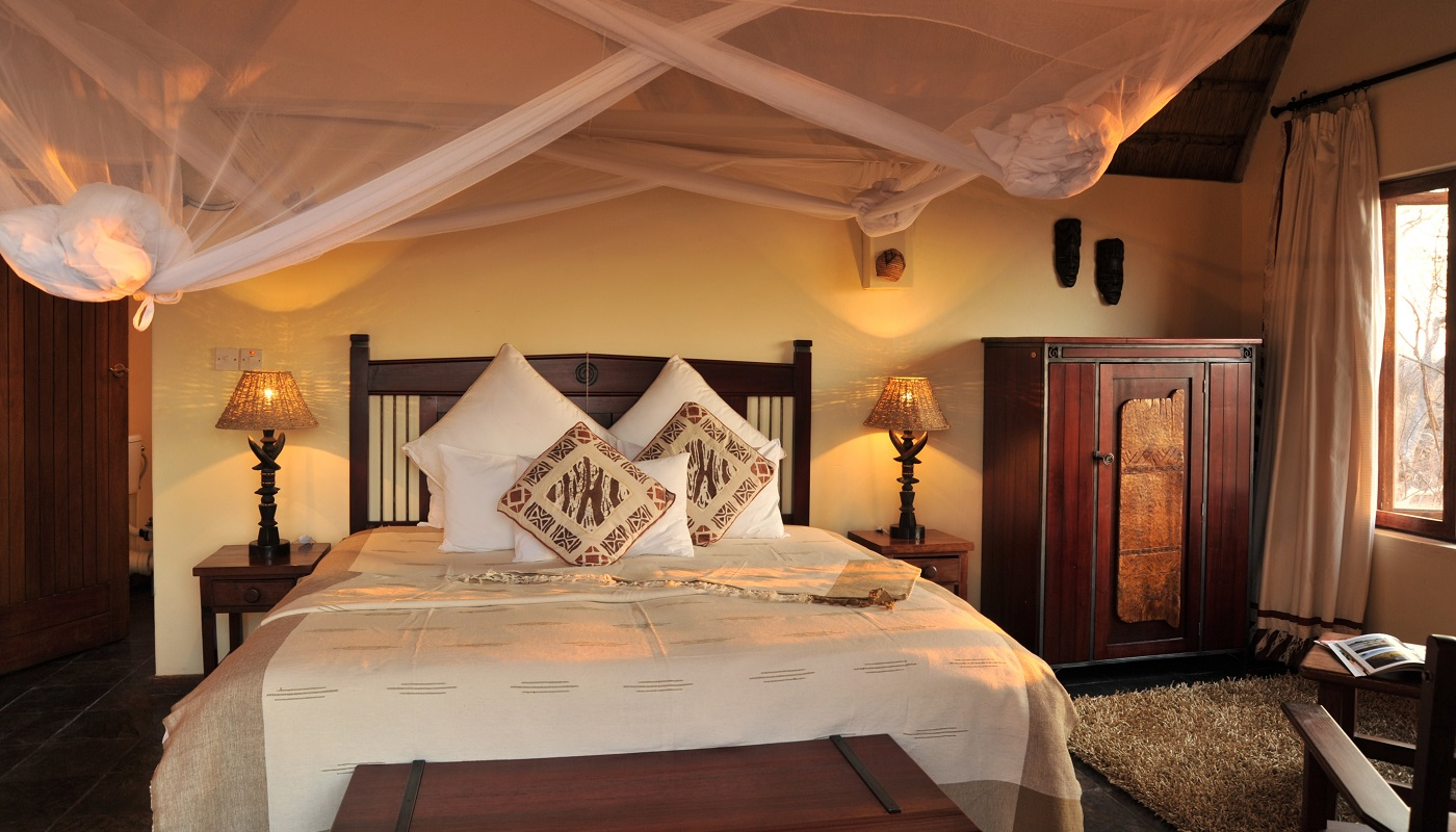 The chalet bedroom