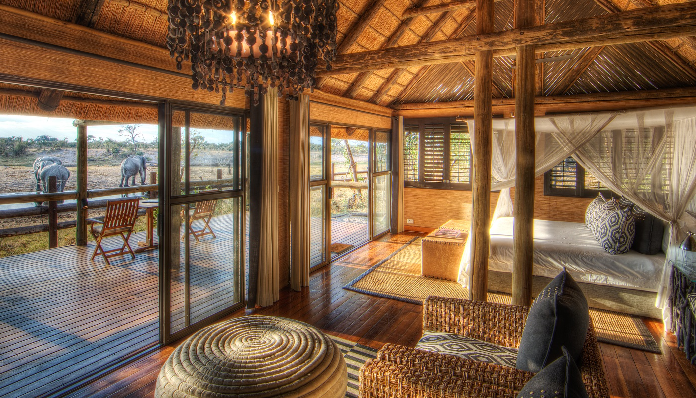 Savute Safari Lodge is a luxury lodge in Kasane
