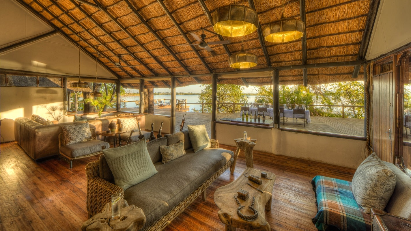 Xugana Island Lodge lounge-min