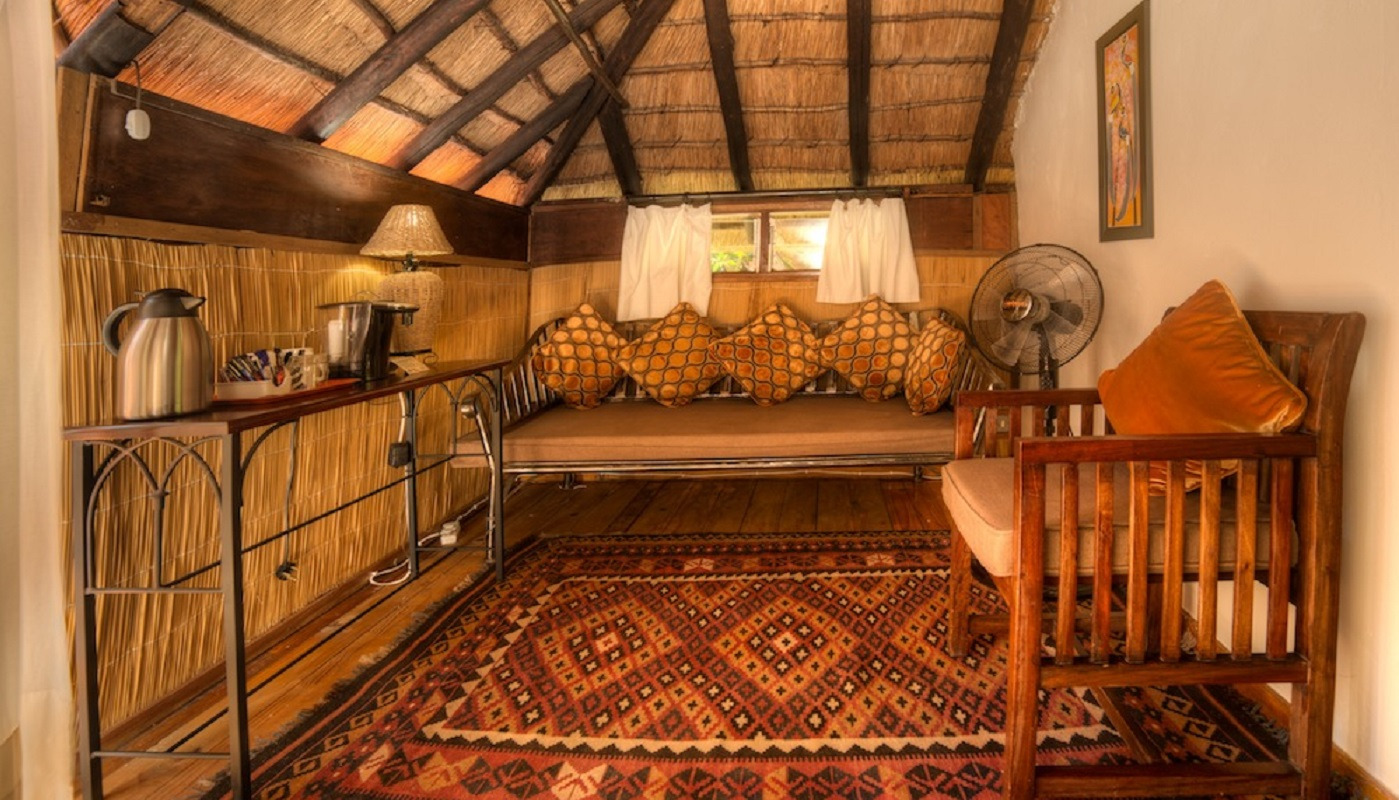 A cozy nook in your African chalet