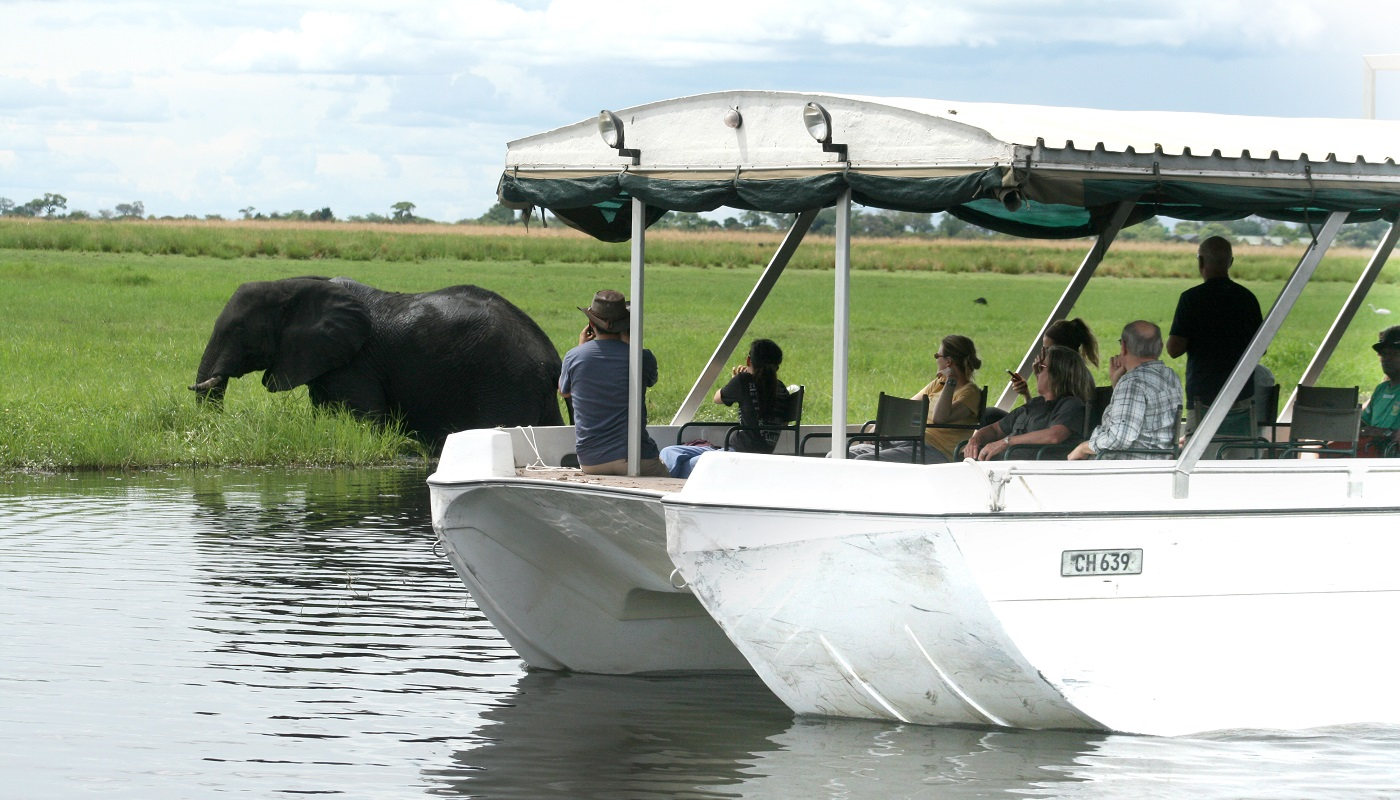 Chobe Boat Cruises are very popular
