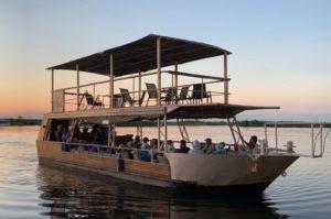 Chobe cruise boat